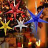 Christmas Fairy String Star Window Hanging Xmas Tree Ornament Party Decor