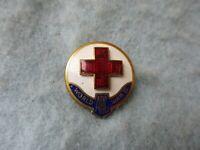 WWII American Red Cross War Service Pin AE Company Marked PB WW2