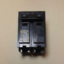 (3 Pcs) Double 2 Pole 30 Amp Square D Breaker Dp-4075 Hom 10ka,120-240V, New