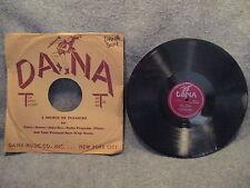 "78 RPM 10"" Record Krakowska Orchestra Bugle Boy Polka & Irma Polka Dana 3024"