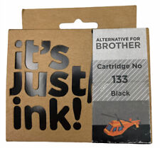 it's just ink! Brother Cartridge No 133 Black