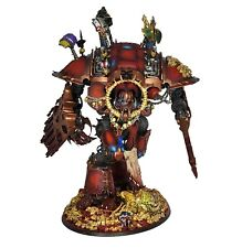 40k Chaos Knight Khorne Themed Professionally Well Painted Heavily Converted