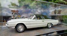 007 JAMES BOND - Ford Thunderbird - 1:43 BOXED CAR MODEL - Goldfinger 1964
