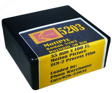 MotiPix Kodak 5203 35 mm x 100' Roll Motion Picture ECN-2 Process Film 50 D