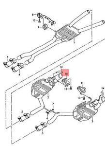 Genuine AUDI A4 Avant S4 quattro Cabrio RS4 8E2 8E5 8EC Bracket 8E0253144AS
