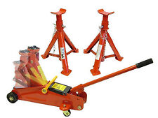 2 Ton Trolley Jack & Axle Stands