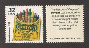 Crayola Crayons-The U.S. Stamp