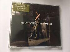 Ms Dynamite Dy - Na - Mi - Tee CD Single UK 2002 Polydor