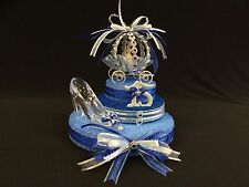 Cinderella Carriage Cake Topper, Centerpiece, Quinceanera, Sweet 16, Birthdays