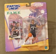 1998 Hasbro Starting Lineup FAME Basketball Figure Allen Iverson Georgetown