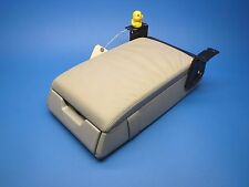 00 01 02 MERCEDES W220 S600 S500 S430 REAR SEAT ARMREST COMPARTMENT LIGHT GRAY