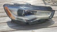 AUDI A6 S6 2012-2015 HEADLIGHT XENON HID PASSENGERS SIDE OEM