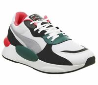 Womens Puma Rs-9.8 Space Trainers Puma White Teal Green Trainers Shoes