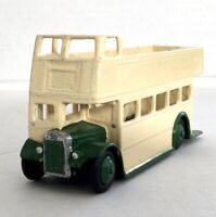DINKY TOYS 290 Open Top DOUBLE DECKER BUS Eastern National Made by Maccano Ltd.