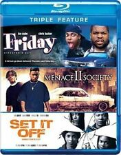 Friday Menace II Society Set It off 0883929230006 Blu Ray Region a