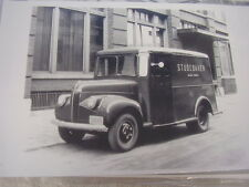 1947 STUDEBAKER  FACTORY MAIL TRUCK  11 X 17  PHOTO /  PICTURE