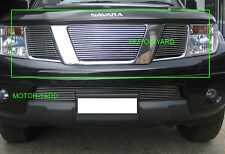 Nissan Navara D40 05-09 Upper Top Billet Grille Grill (Without Badge Hole)