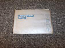 1974 Audi 100 LS Factory Original Owner's Owners User Manual Coupe Sedan C1 1.9L