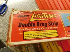 Johnny Lightning Double drag strip track