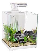 Aqua One Betta Fighter Fish Sanctuary Aquarium Fish Tank White 10 Litre