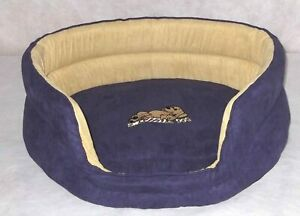"""Snoozzzeee Dog - Oval Dog Bed 23"""" Purple"""