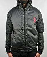 Ralph Lauren Windbreaker Sports Padded Jacket Camo & Black (Asian Size)