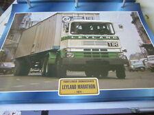 Super Trucks Frontlenker England Leyland Marathon 1974