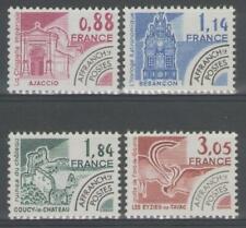 """FRANCE: Préoblitérés n°170/173 **, """"monuments historiques"""""""
