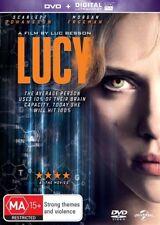 Lucy (Dvd) Action, Sci-Fi, Thriller Scarlett Johansson, Morgan Freeman