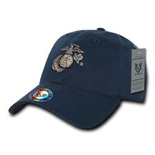 US Military Marine Corps USMC OFFICIALLY LICENSED Relaxed Fit Baseball Cap Hat