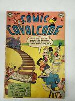 DC Comics 68 Big Pages Comic Cavalcade Oct-Nov 1952 No 53 (dd) (bb27)