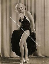 1930s POLISH BORN AMERICAN ACTRESS LYDA ROBERTI LEGGY 8X10 PHOTO A-LROB