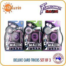 Fantasma Magic's Deluxe Cards DVD Edition 3 Sets Bundle 105+ Tricks *CLEARANCE!