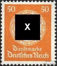 Imperio Alemán d143 nuevo 1934 sello de franqueo oficial