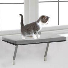 Pet Cat Window Perch Seat Bed Kitty Shelf Mounted Hanging Sleep Cushion Cat Seat