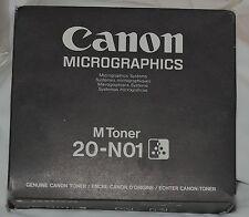 Genuine Canon Micrographics M Toner 20-N01 Black Toner M95-0371-000 BLACK