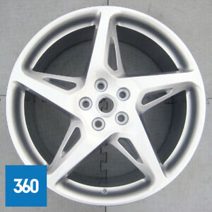 "1 x GENUINE FERRARI 458 20"" STANDARD 5 SPOKE REAR ALLOY WHEEL 282333 282335"