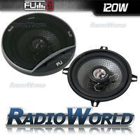 """240W Car Door / Shelf Speakers Pair 5.25"""" 13cm Coaxial FLI 2 Way"""