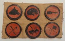 VINTAGE BOY SCOUTS LEATHER BADGES