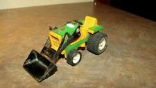 "VINTAGE 1970's PRESSED STEEL 6"". TONKA LAWN TRACTOR WITH FRONT LOADER"