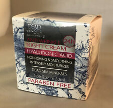 Dead Sea Collection Anti Wrinkle Hyaluronic Acid Night Cream 1.69 oz