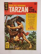 TARZAN OF THE APES #178 (F/VF) 1968 SILVER AGE GOLD KEY COMICS! PAINTED COVER