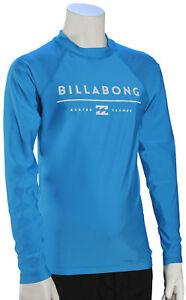 Billabong Boy's All Day Unity LS Rash Guard - New Blue - New