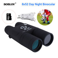 Night Vision Binocular Telescope With 16GB & 4 in 1 Card Reader Used Day & Night