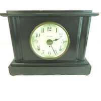 1920's Seth Thomas 8-Day Antique Mantle Clock with Key - VTG Desk Office