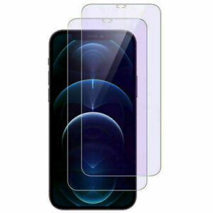 Blue Light Tempered Glass Screen Protector For iPhone 12 mini 11 Pro X XS Max XR