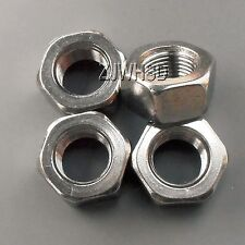 4pcs M12 x 1.25 mm Pitch Stainless Steel Left Hand Fine Thread Hex Nut Metric