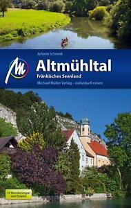REISEFÜHRER Altmühltal 2017/18 Michael Müller Verlag mit LANDKARTEN   ungelesen