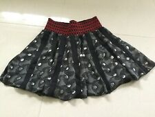 H & M Black & White Skater Skirt UK 8 EU 36 Size Would Fit 10/12 Too