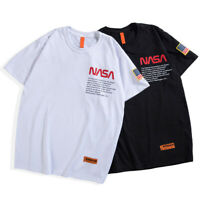 2019 New Fashion Heron Preston Cotton NASA T-shirt Embroidery Short Sleeves Hot